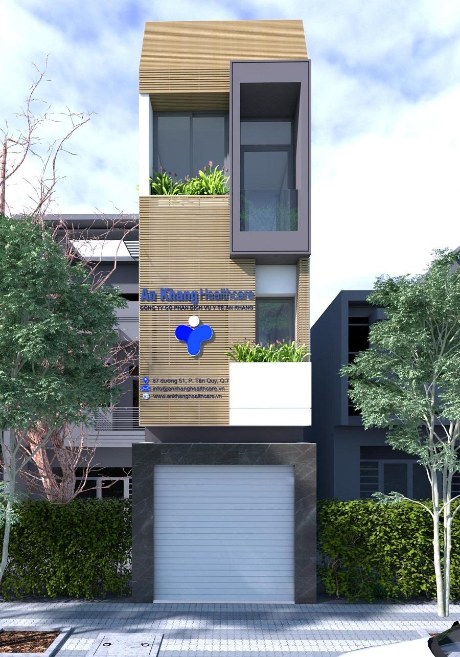 Thiết kế phòng khám An Khang quận 7